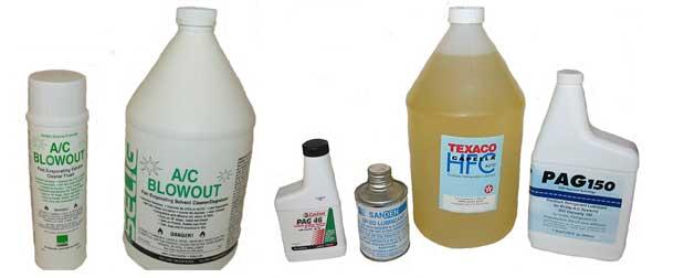 Compressor Oil and System Flush