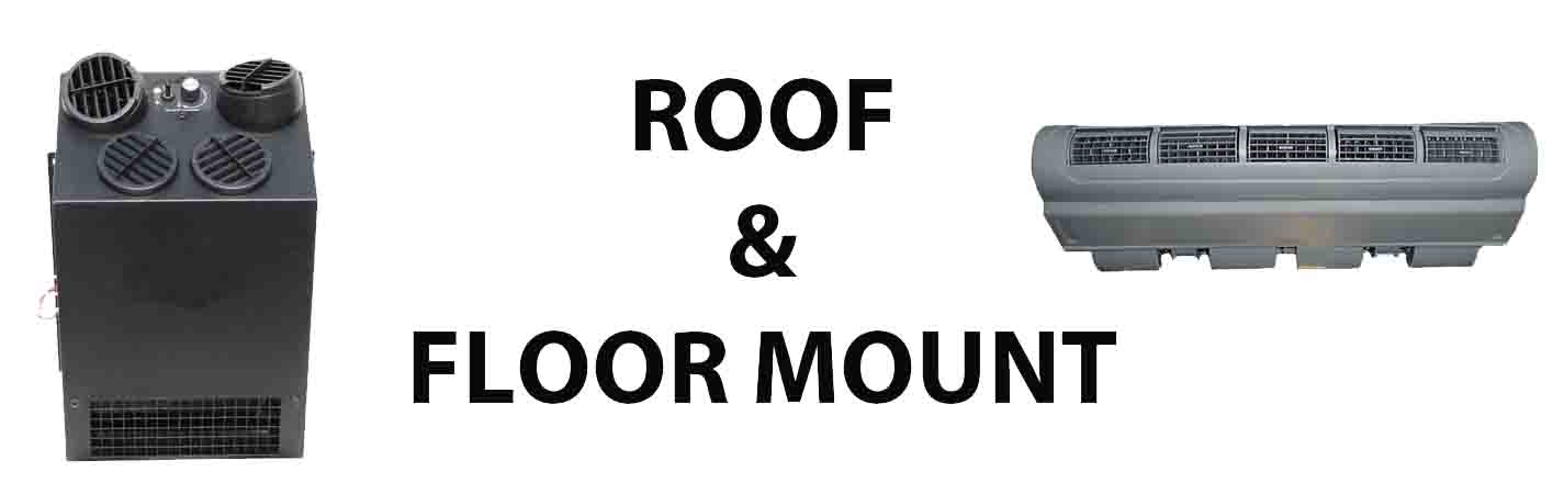 Roof & Floor Mount Evap. Units