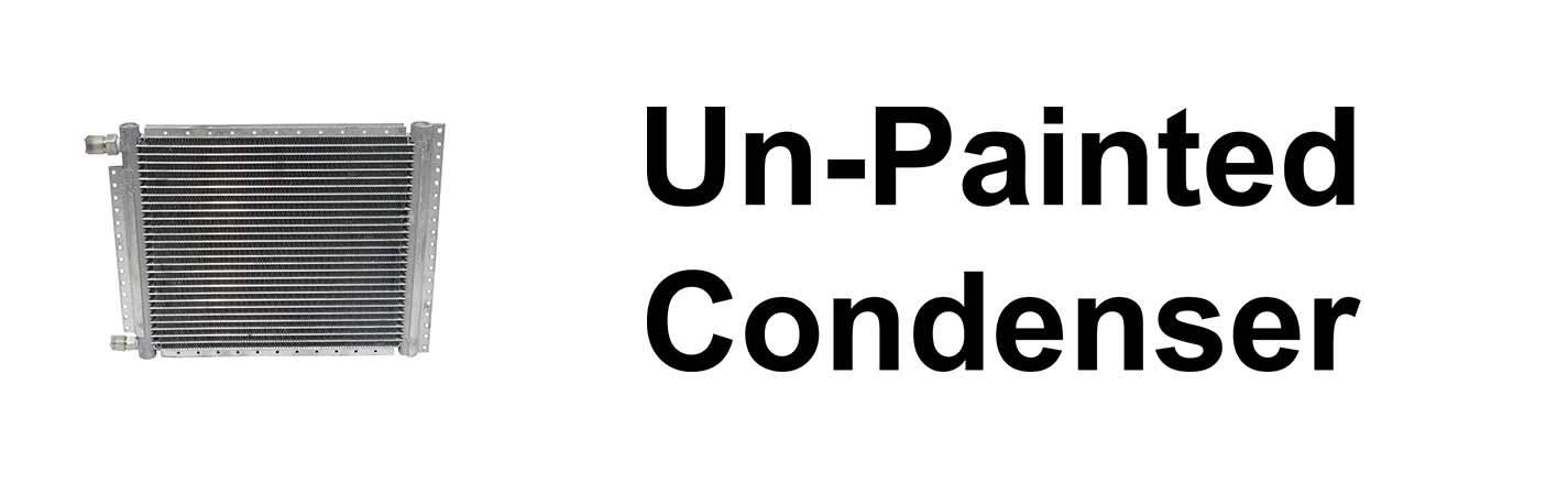Unpainted Condenser