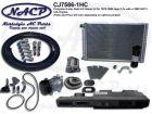 1975-1986 Complete A/C and Heat Kit Jeep CJ's 258CI 4.2L Engine
