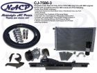1975 - 1986 Complete A/C Only Kit Jeep CJ's Small Block Chevy Engines